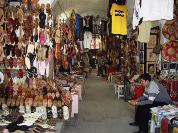 Le souk - Le commerce traditionnel