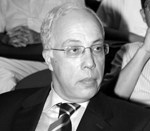 le président de l'Amith Mohamed Tamer