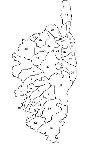 Cadre de référence (les 35 Sous-Micro-Région)
