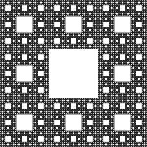 Le tapis de Sierpinski