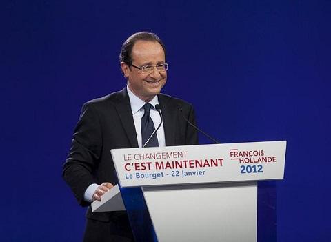 François Hollande au discours du Bourget