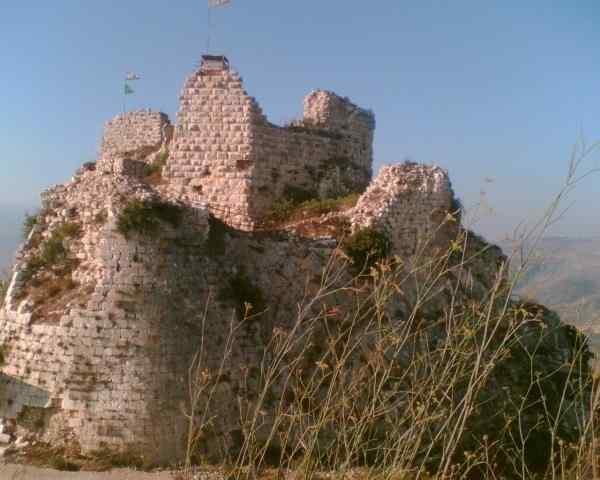 Le Château de Beaufort après la libération