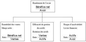 Premier niveau de décomposition du modèle de Dupont_