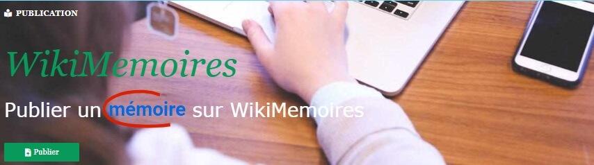 WikiMemoires - Publier son mémoire de fin d'études !
